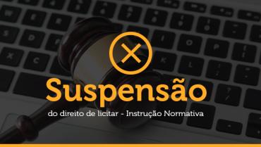 Formas de Suspensão do Direito de Licitar