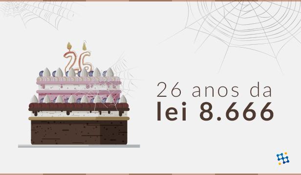 21 de junho: 26 anos da Lei 8.666
