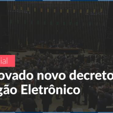 Oficial: aprovado o novo decreto do pregão eletrônico